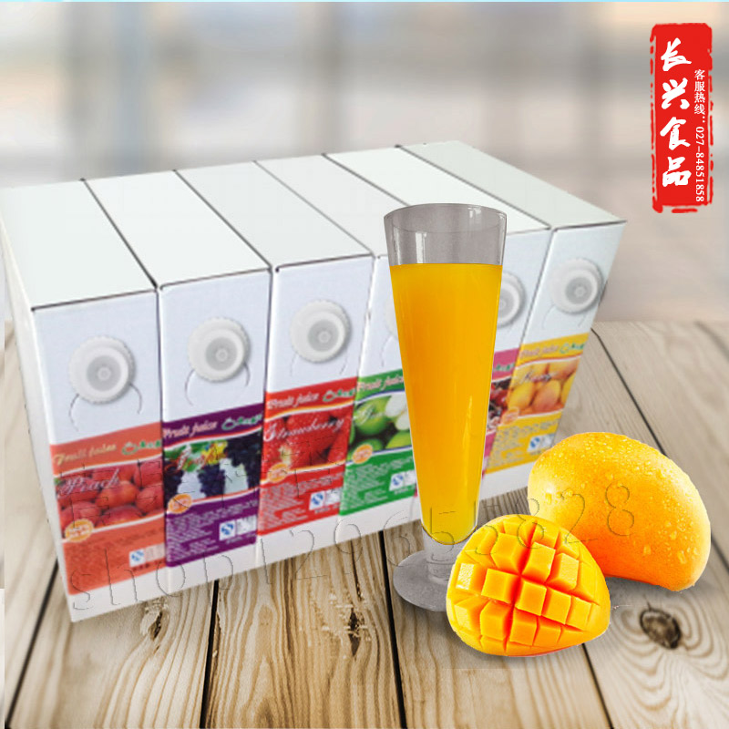 Real fruit, real fragrance, 5kg concentrated fruit juice, 9 times of instant mixing machine, special concentrated pulp, multi flavor Changxing food and beverage