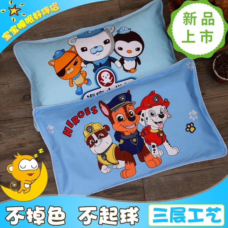 宝宝儿童枕头1-3-6-16岁荞麦枕加长全棉纯棉卡通幼儿园热销学生枕
