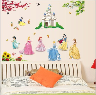 Lovely and happy tree wall stickers bedroom warm bedside decoration baby girl room wall stickers full send