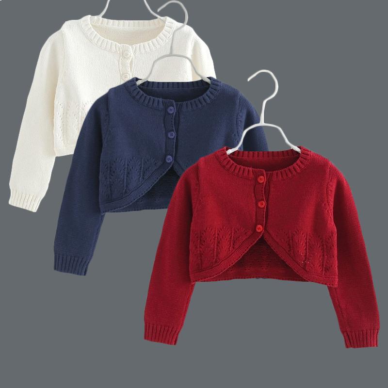 儿童秋装女童披肩秋季长袖针织毛衣