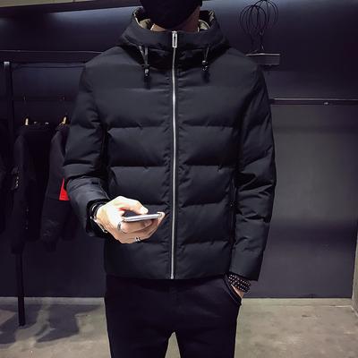 MY918-P175冬季新品内里迷彩男士修身连帽棉衣 100聚酯纤维