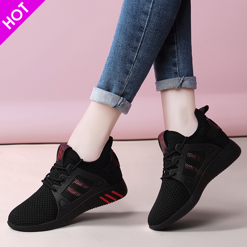 Womens sports and leisure shoes 2019 new ins versatile 2020 womens shoes spring and autumn running shoes womens travel shoes