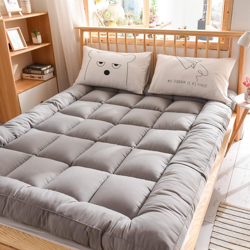 10-20新券酒店超柔软床垫软垫加厚家用1.8x2米床垫0.9m宿舍单人1.2m1.5褥子