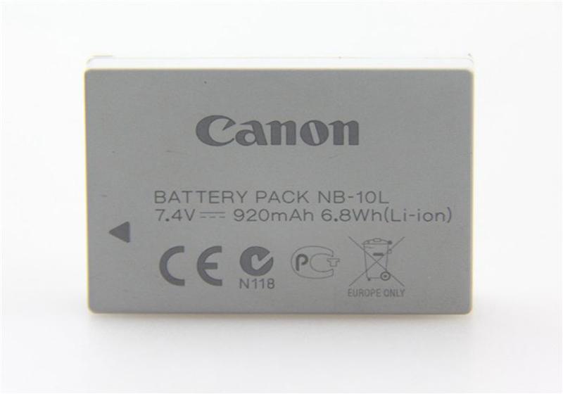 佳能原装NB-10L电池G1X G15 G16 SX40HS SX50HS SX60数码相机电池