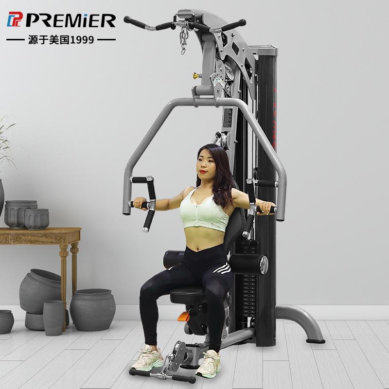 美国格林综合训练器健身房单人站力量商用家用训练器材大型多功能