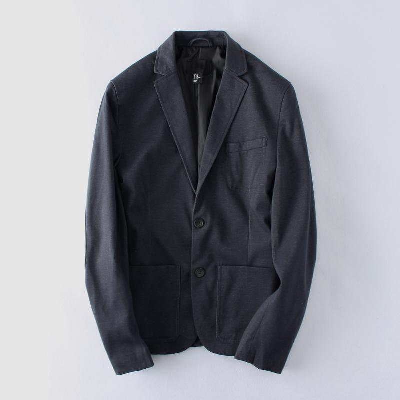 瑕疵款小西装男士青年春休闲韩版修身薄款两粒扣单西装外套男西服