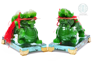 Lucky brave ornaments gifts feng shui crafts opening new house living room TV cabinet office decorations