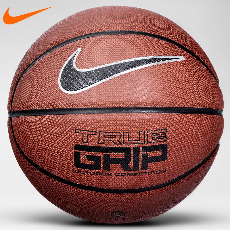Nike подлинный nike баскетбол на открытом воздухе комнатный противоскользящий износоустойчивый кожзаменитель кожа BB0434 яркий 7 количество улица lanqiu