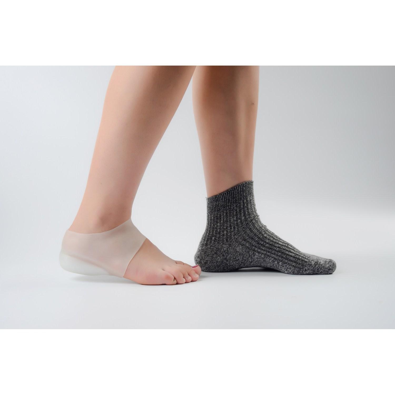 增高内隐形鞋垫硅胶透气套面试男女后跟体检仿生袜子隐形袜2cm3cm满71.64元可用37.25元优惠券