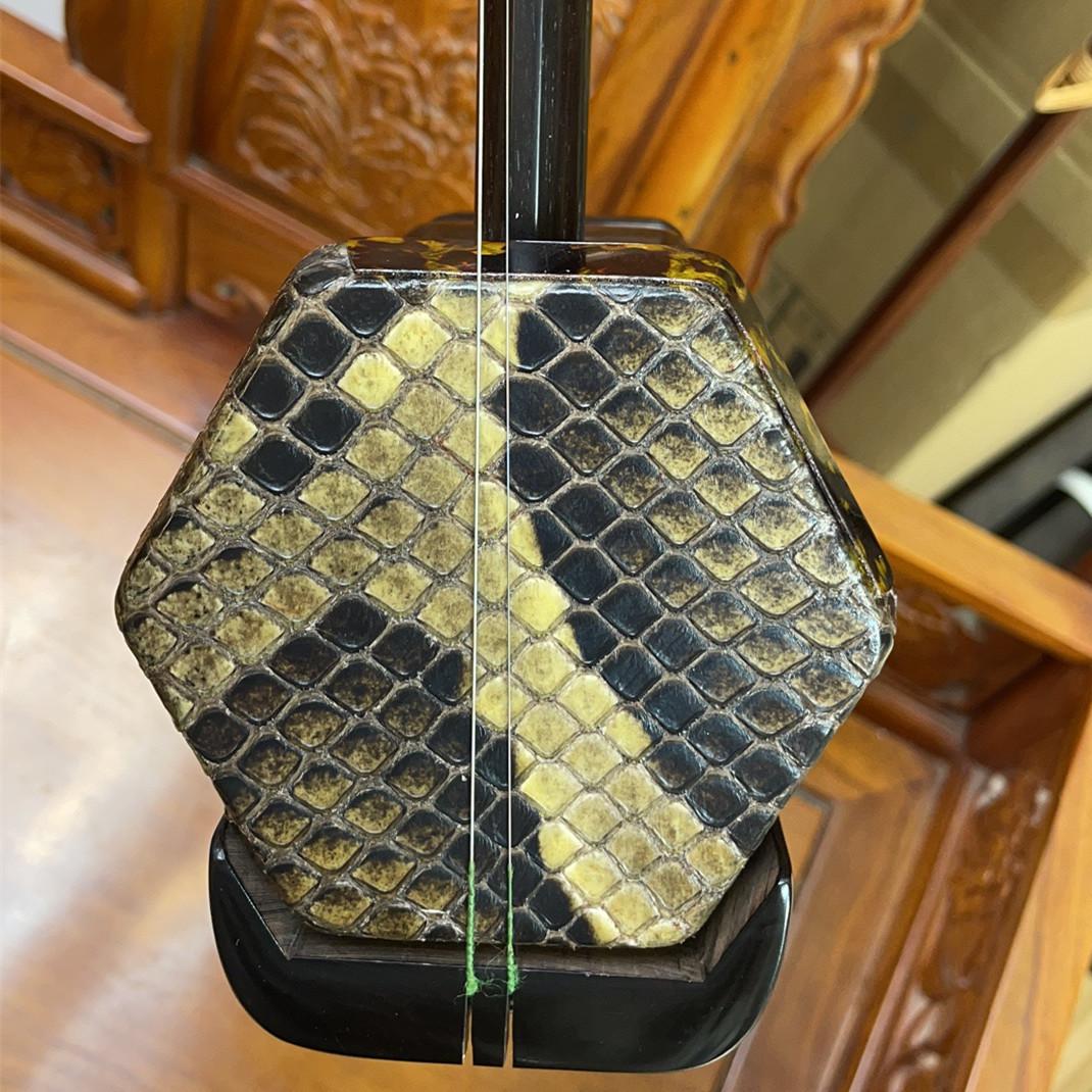 年工艺师手工32苏州艺琴二胡一级黑檀木料演奏练习专业琴厂家直销