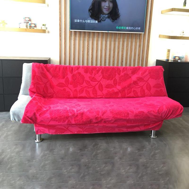 沙發罩沙發套簡易沙發床可摺疊小戶型單人雙人三人出租房懶人沙發