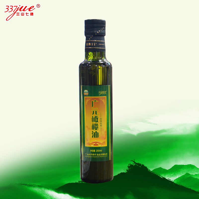 Sanshanqijue Extra Virgin Olive Oil 250ml Guangyuan olive oil local press Sichuan Guangyuan specialty