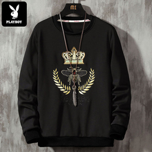 Playboy long sleeve t-shirt men's trend in autumn and winter