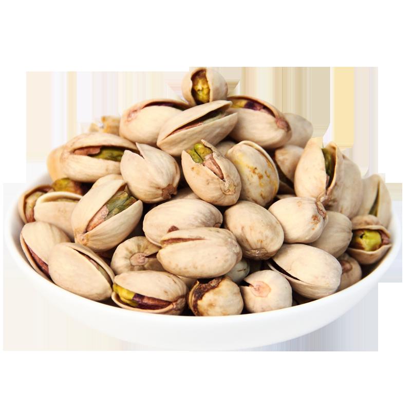千顷山 自然开口 kaixinguo无漂白本色 大粒开心果220克×2袋