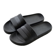 Summer slippers men beach platform anti-skid bathroom bathing sandals indoor female summer showers plastic slippers at home