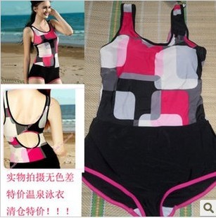 Female Siamese boxer swimsuit cover the belly was thin swimsuit Korea gather new professional swimsuit 2013