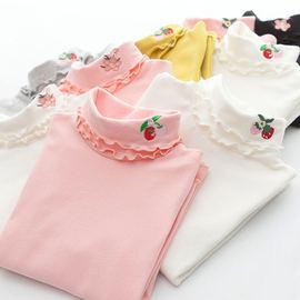 童装女童秋冬高领打底衫加厚中大童儿童T恤韩版女孩女宝秋衣上衣图片