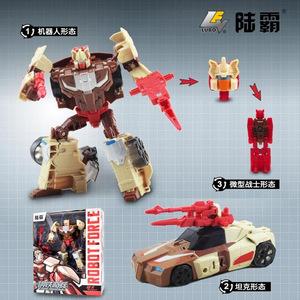 变形工场威将陆霸头领战士变形玩具金刚老顽固海龙鳄鱼人狼蝙蝠怪