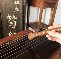 古琴配件碳化竹节手柄柔软古琴去灰刷古琴刷七韵古琴