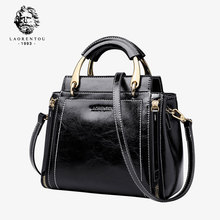 New fashion handbag for the elderly with head bag and lady bag for the year of 2019 with retro one-shoulder sloping bag and genuine leather lady bag
