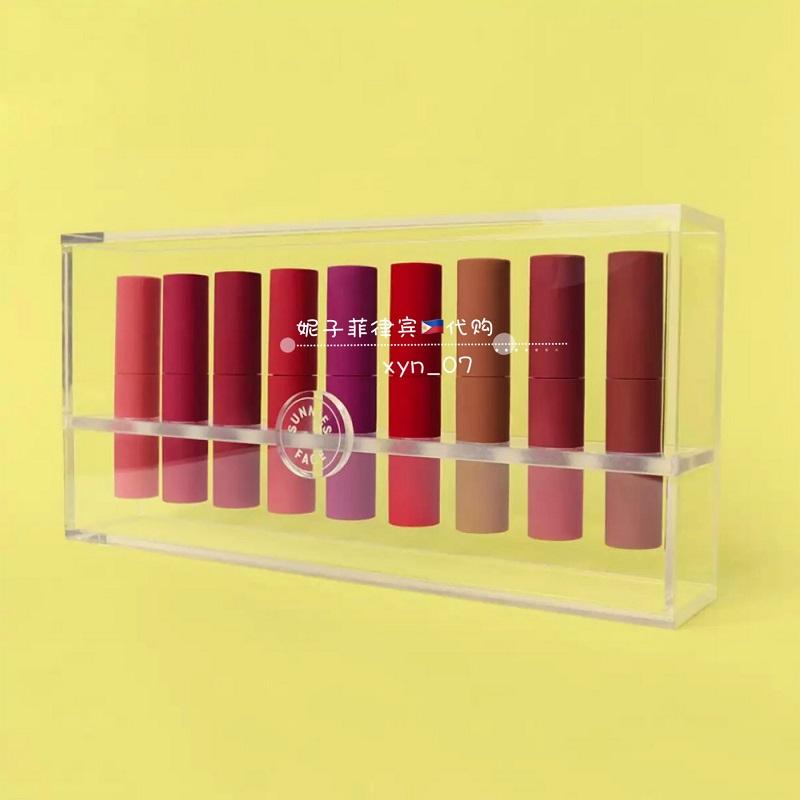 菲律宾代本土彩妆sunniesface唇釉哑光口红唇釉INS热推新品lipdip11-04新券