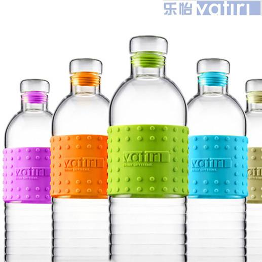 VATIRI 二代糖果矿泉水瓶 乐怡玻璃杯手工耐热玻璃瓶创意瓶