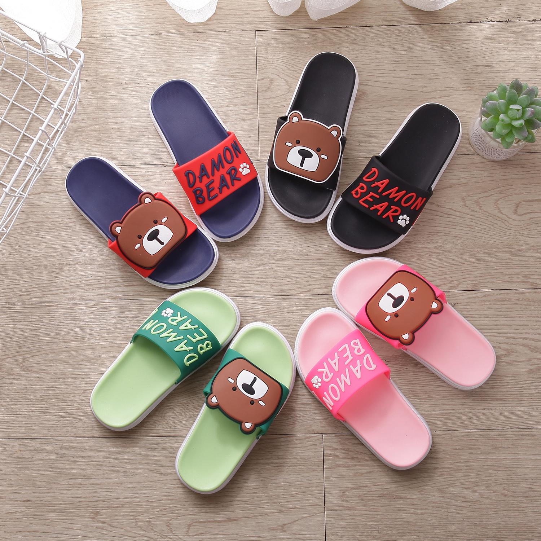 亲子拖鞋一家三口夏季室内软底防滑可爱卡通家用浴室洗澡家居凉鞋