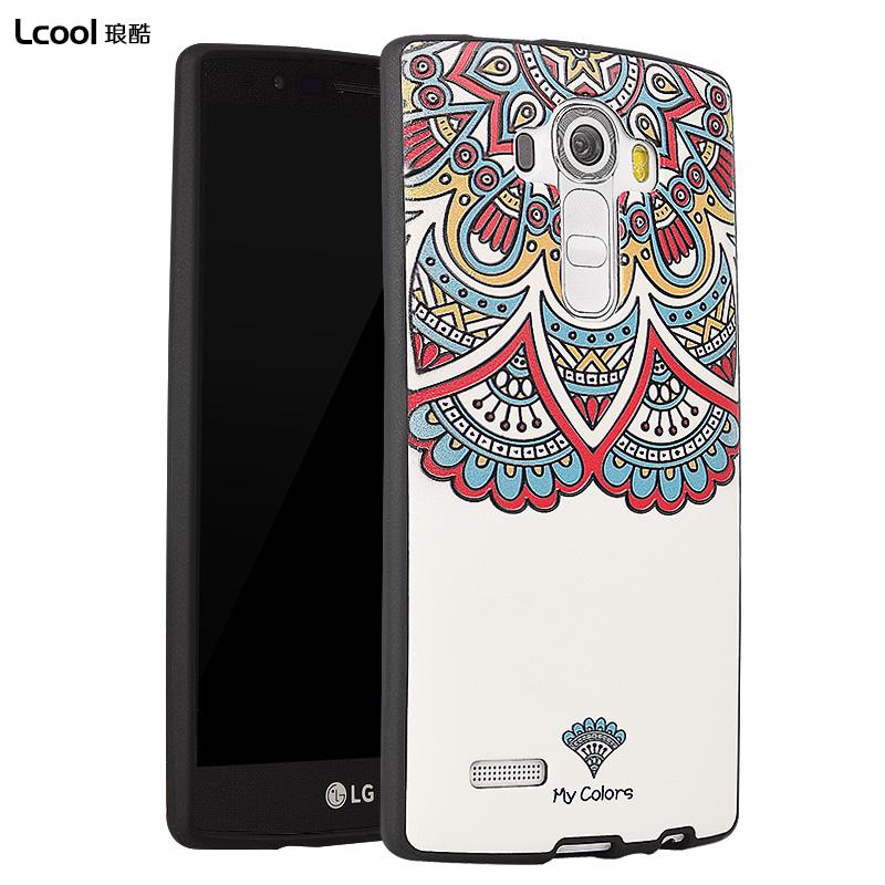 琅酷 LG G4手機殼矽膠G4手機套軟套H815全包卡通H818保護套軟殼