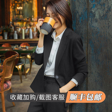 Autumn and winter new leisure style professional dress college students interview formal dress women work suit suit suit suit