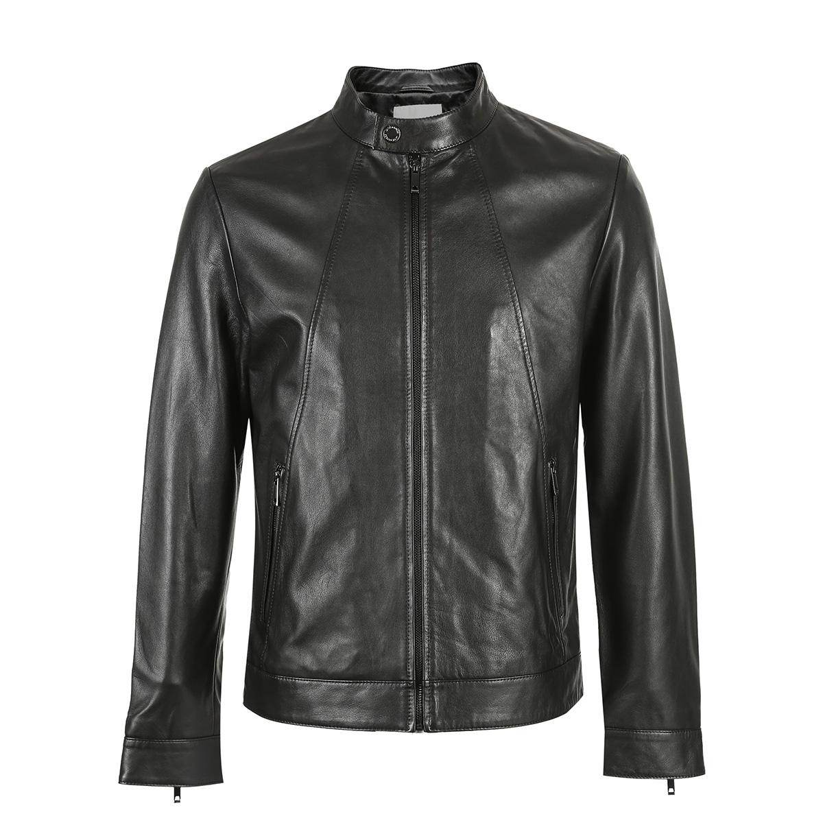 皮夹克穿什么衣服搭配:十三岁穿多少尺码