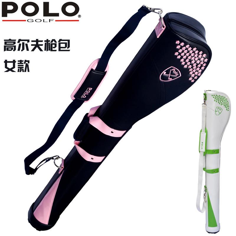 Polo бесплатная доставка по китаю новая коллекция golf пистолет пакет женский мяч пакет вышитый стиль Сумка для гольфа женский кий пакет