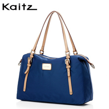 Katozi kaitz women's bag large bag 2019 new nylon women's bag Single Shoulder Bag Messenger Bag locomotive bag simple