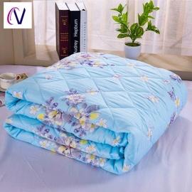 被子棉被夏季男生薄款1米8空调被秋天简约冬天单人床单件小学生午