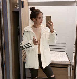實拍2019冬季新款羽絨服女短款網紅時尚收腰短款學生棉服外套