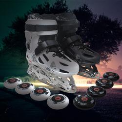 HK冰球鞋冰刀鞋男女成年人滑冰鞋溜冰轮滑鞋直排轮平花鞋花样冰刀