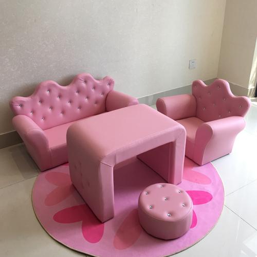 Childrens sofa lovely princess crown SOFA DOUBLE childrens Park Corner girl boys baby sofa chair