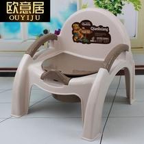 香蕉儿童坐便器便携式可折叠免清洗车载宝宝马桶旅行神器HOFUN