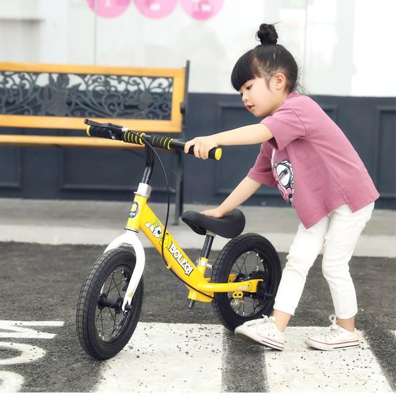 幼儿滑行平衡车无儿童2-6岁溜溜车脚踏两轮自行车宝宝12寸滑步车券后117.00元