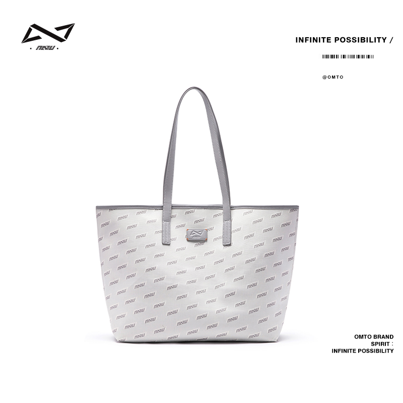 Omto tote bag female niche design large-capacity college students commuting to class with large single shoulder handbag