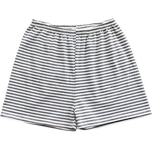 夏天睡褲女夏短褲居家格子純棉寬鬆大碼夏季薄款全棉單件單條日系