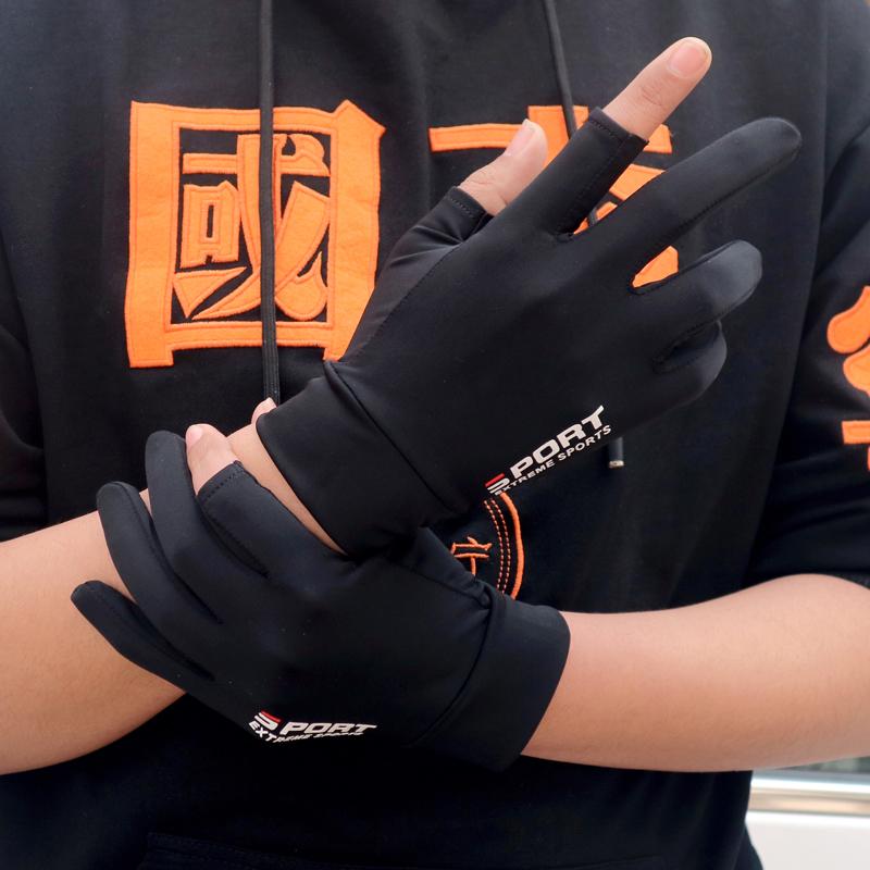 Мужские перчатки без пальцев Артикул 615772897857