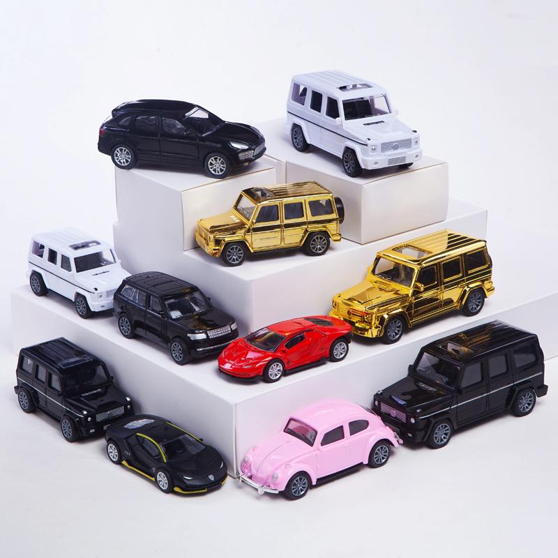 父亲节生日蛋糕装饰汽车跑车越野车模型烘焙ins蛋糕甜品装饰摆件