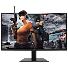 HKC GF40 24 inch 144 Hz Display Computer Surface Competition Wide Screen HDMI Game Internet Cafe Household Eye Protection Desktop High Definition LCD 1080p External 27 Small Diamond Game
