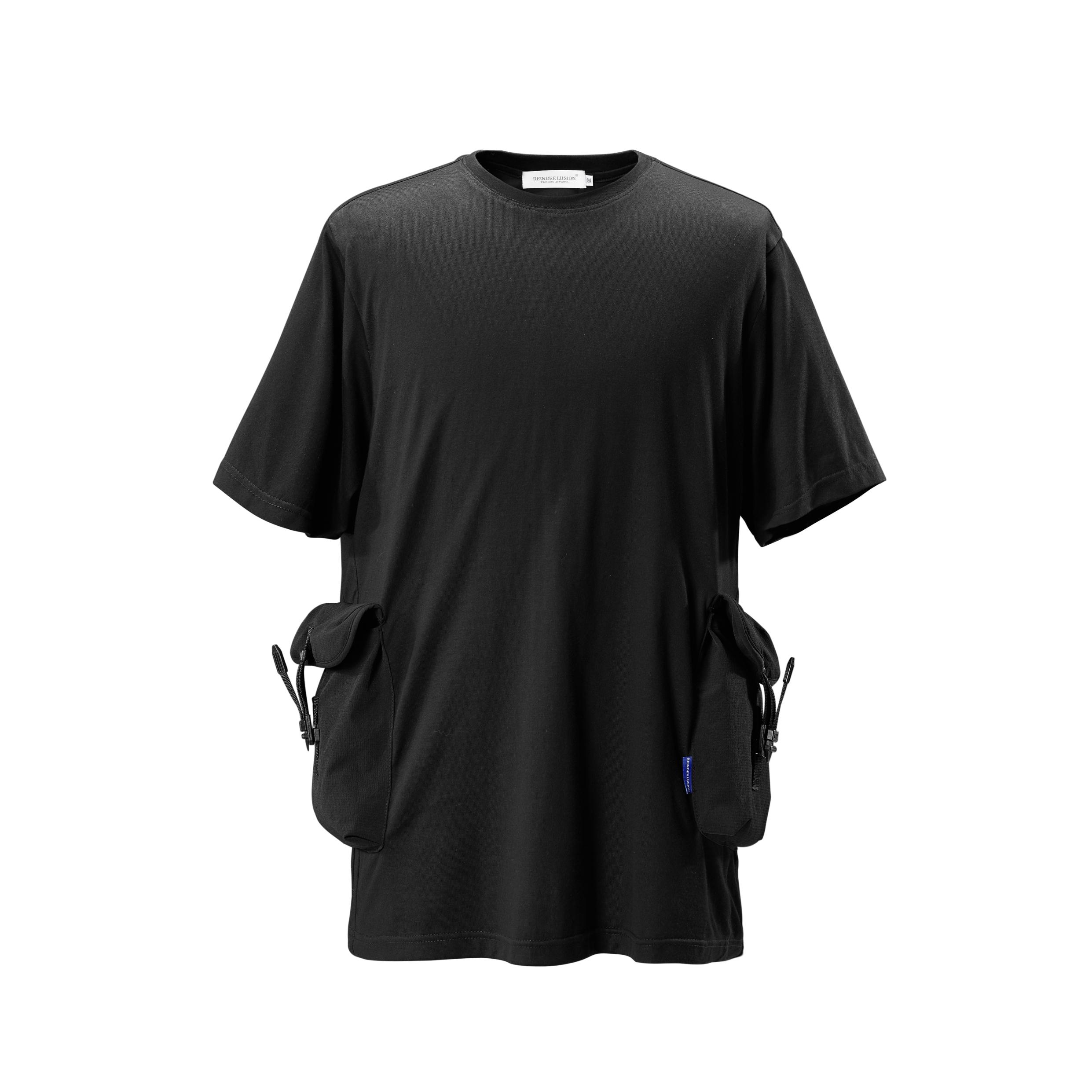 RL | REINDEE LUSION 立体结构快拆扣机能口袋短袖T恤