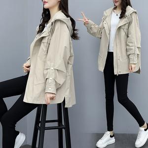 2020流行春季女韩版秋季新款小个子风衣女学生早春宽松外套女装潮