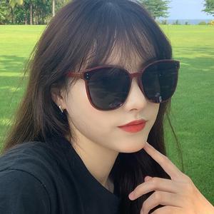 韩国2020新款太阳镜女时尚大框圆脸显瘦ins街拍偏光防紫外线墨镜
