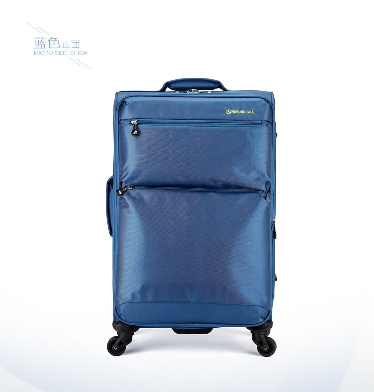 新款威盛达万向轮布拉杆箱16寸登机箱24寸学生行李箱28寸超大容量