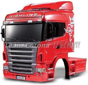 TAMIYA Tamiya 1/14 тракторы оболочки кора Scania R620 6x4 Highline 56514