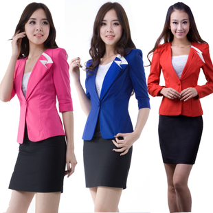 Spring and summer dress wear suit Korean version of women s fashion career suits ladies skirt quality ladies