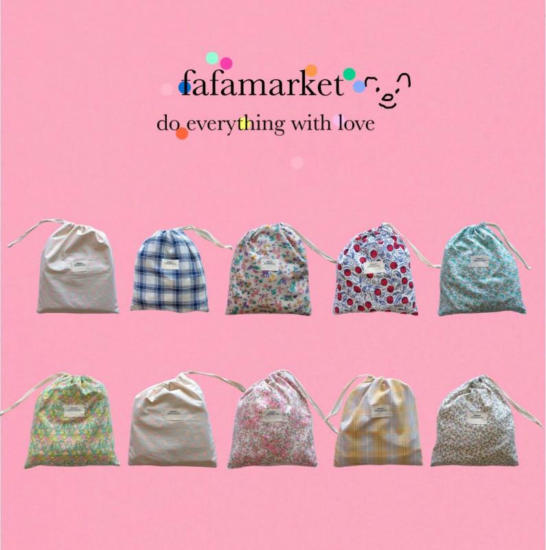 fafamarket 韩国自制收纳袋大容量收纳袋居家旅行收纳袋